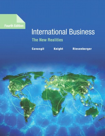Solution Manual for International Business: The New Realities