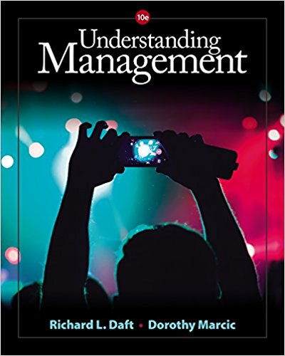 Solution manual for Understanding Management 10th Edition By Richard L. Daft