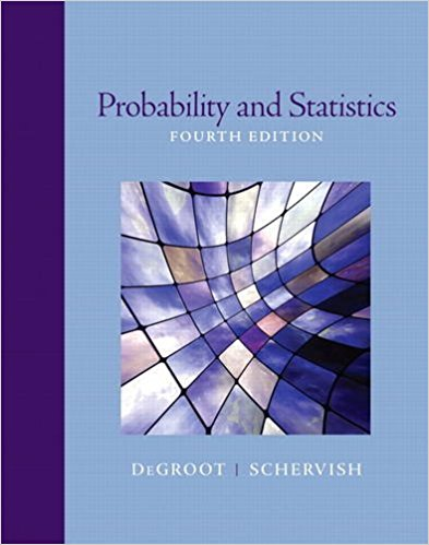Solution Manual for Probability and Statistics 4th Edition By Morris H. DeGroot