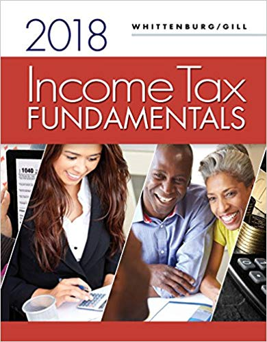 Test Bank for Income Tax Fundamentals 2018