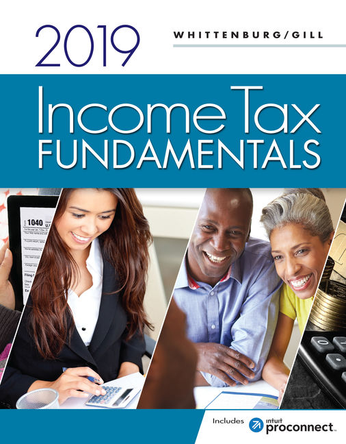 Test Bank for Income Tax Fundamentals 2019 37th Edition Whittenburg