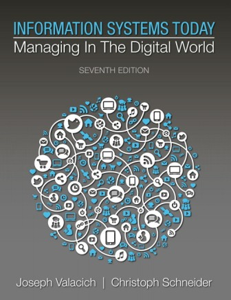Test Bank for Information Systems Today: Managing in a Digital World