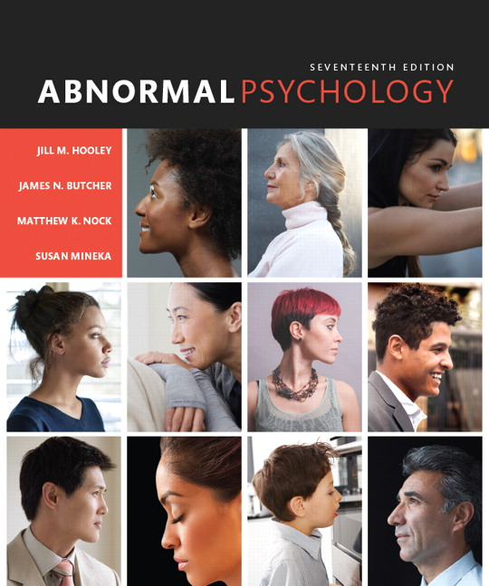 Test Bank for Abnormal Psychology 17th Edition Hooley