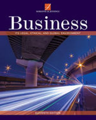 Test Bank for Business: Its Legal, Ethical, and Global Environment 11th Edition Jennings
