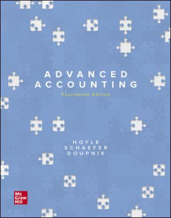 Solution Manual for Advanced Accounting 14th Edition Hoyle