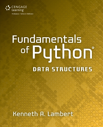 Solution Manual for Fundamentals of Python: Data Structures 1st Edition Lambert