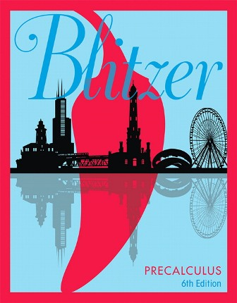 Test Bank for Precalculus 6th Edition Blitzer