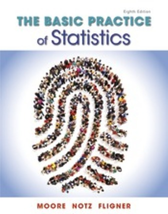 Test Bank for The Basic Practice of Statistics 8th Edition Moore