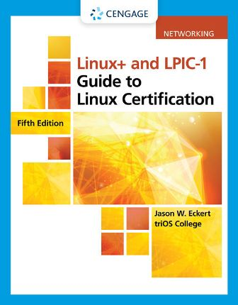 Test Bank for Linux+ and LPIC-1 Guide to Linux Certification 5th Edition Eckert