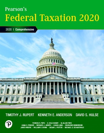 Solution Manual for Pearson's Federal Taxation 2020 Comprehensive 33rd Edition Rupert