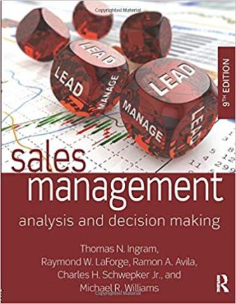 Test Bank for Sales Management 9th Edition by Ingram