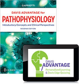 Test Bank for Davis Advantage for Pathophysiology: Introductory Concepts and Clinical Perspectives 2nd Edition Capriotti