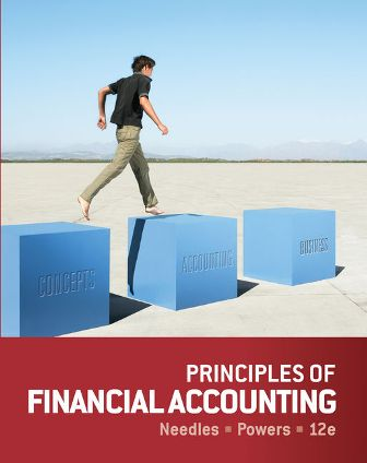 Solution Manual for Principles of Financial Accounting 12th Edition Needles