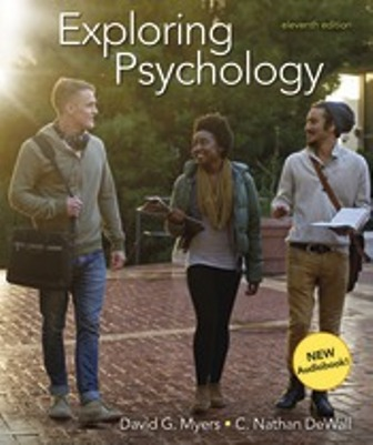 Test Bank for Exploring Psychology 11th Edition Myers
