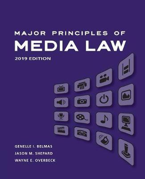 Test Bank for Major Principles of Media Law Revised 2019 Edition 1st Edition Overbeck