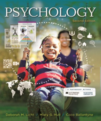 Test Bank for Psychology 2nd Edition Licht
