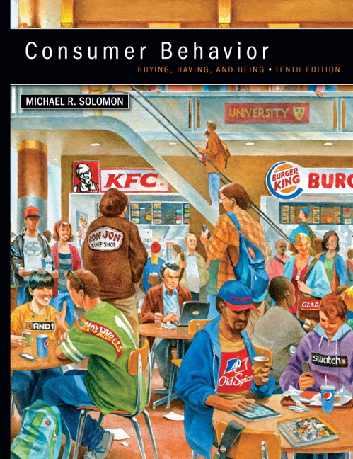 Solution Manual for Consumer Behavior, 10th Edition,  Solomon