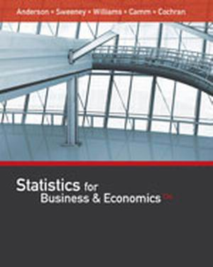 Test Bank for Statistics for Business & Economics 13th Edition David R. Anderson
