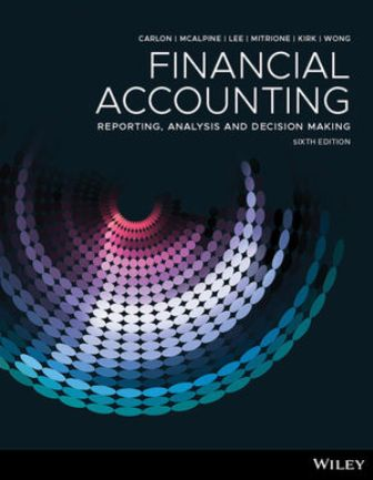 Solution Manual for Financial Accounting: Reporting, Analysis And Decision Making 6th Edition Carlon