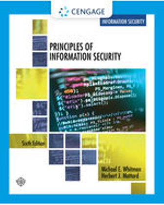 Test Bank for Principles of Information Security 6th Edition Whitman