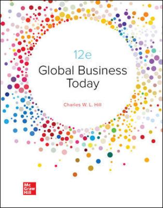 Test Bank for Global Business Today 12th Edition Hill
