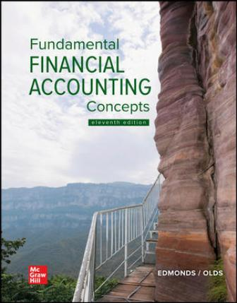 Solution Manual for Fundamental Financial Accounting Concepts 11th Edition Edmonds