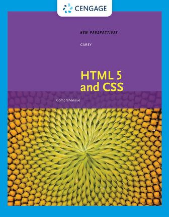 Solution Manual for New Perspectives on HTML 5 and CSS: Comprehensive 8th Edition Carey