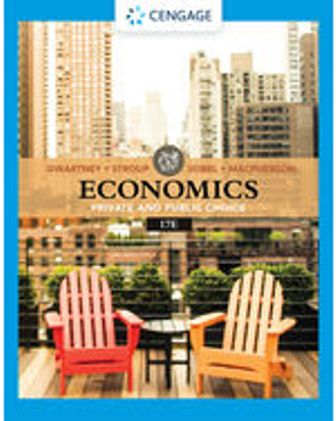 Test Bank for Economics: Private & Public Choice 17th Edition Gwartney