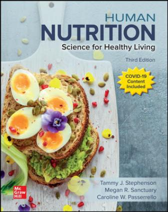 Test Bank for Human Nutrition: Science for Healthy Living 3rd Edition Stephenson