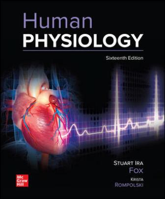 Test Bank for Human Physiology 16th Edition Fox