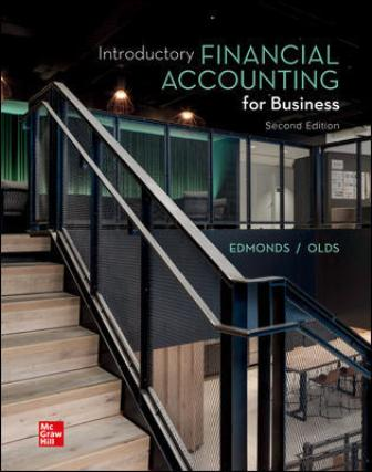 Solution Manual for Introductory Financial Accounting for Business 2nd Edition Edmonds