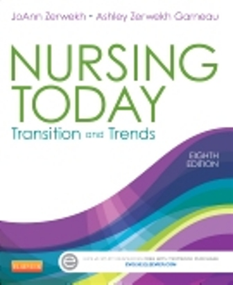 Test Bank for Nursing Today Transition and Trends 8th Edition Zerwekh