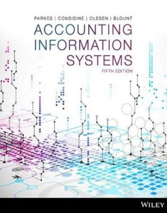 Solution Manual for Accounting Information Systems 5th Edition Parkes