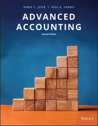 Solution Manual for Advanced Accounting 7th Edition Jeter